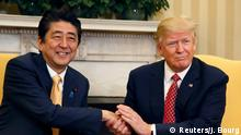 USA Besuch Shinzo Abe bei Trump in Washington