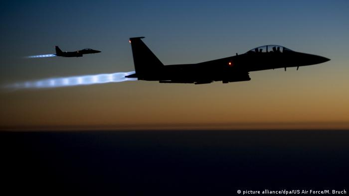 US-Kampfjet F-15E (picture alliance/dpa/US Air Force/M. Bruch)