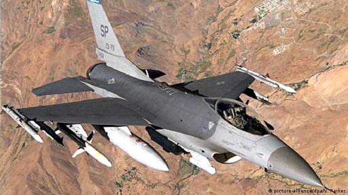 US-Kampfjet F-16C (picture-alliance/dpa/V. Parker)
