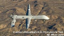 US-Kampfdrohne - Air Force MQ-1
