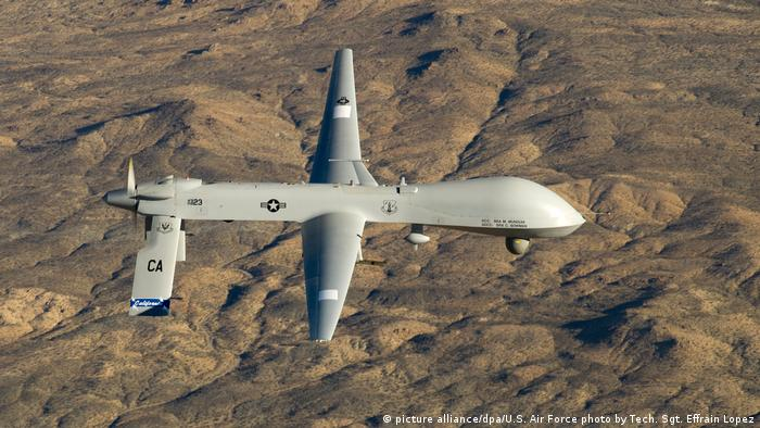 US-Kampfdrohne - Air Force MQ-1 (picture alliance/dpa/U.S. Air Force photo by Tech. Sgt. Effrain Lopez)