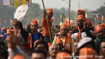 Indien Wahlen Uttar Pradesh (Getty Images/AFP/P. Singh)