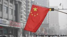 Symbolbild China Flagge - Shijiazhuang (Getty Images/AFP/G. Baker)
