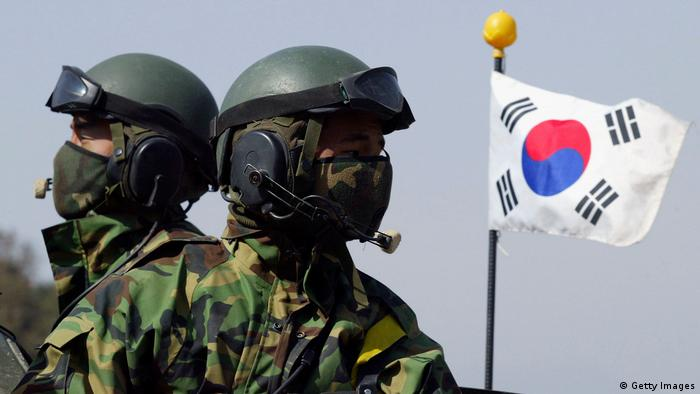 South Korea soldiers (Getty Images)