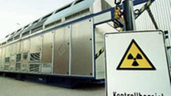 Containers transporting nuclear waste