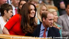 Wimbledon 2015 Prince William und Kate Middleton