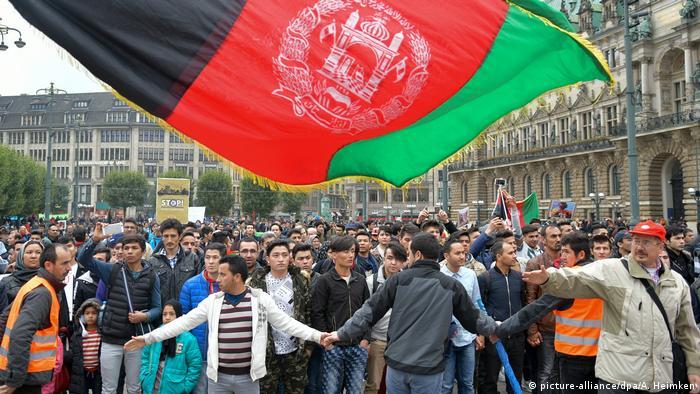 Deutschland Hamburg - Protest gegen Abschiebung nach Afghanistan