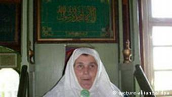 Eugenia Ratkiewicz, a member of the Islamic community in Bohoniki