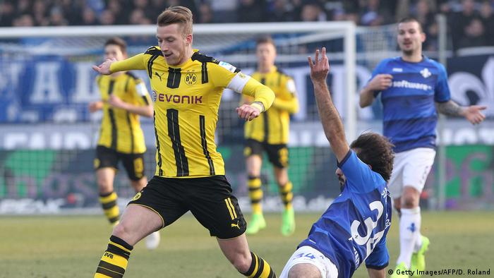 Deutschland Bundesliga - SV Darmstadt 98 v Borussia Dortmund (Getty Images/AFP/D. Roland)