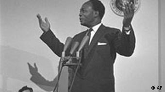 Kwame Nkruma, President of Ghana