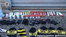 Polizei stoppt BVB-Hooligans
