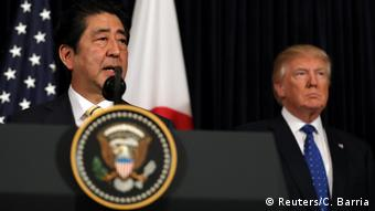 USA Präsidenten Donald Trump & Shinzo Abe, Japan | Kommentar zu Nordkorea