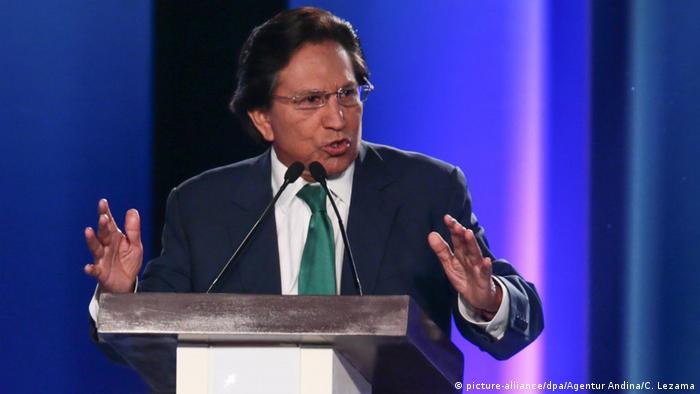 Alejandro Toledo - früherer peruanischer Staatschef (picture-alliance/dpa/Agentur Andina/C. Lezama)