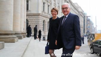 Deutschland   Wahl des Bundespräsidenten   Gottesdienst St. Hedwigs-Kathedrale   Ankunft Steinmeier