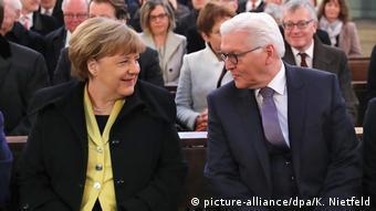 Меркел и Щайнмайер