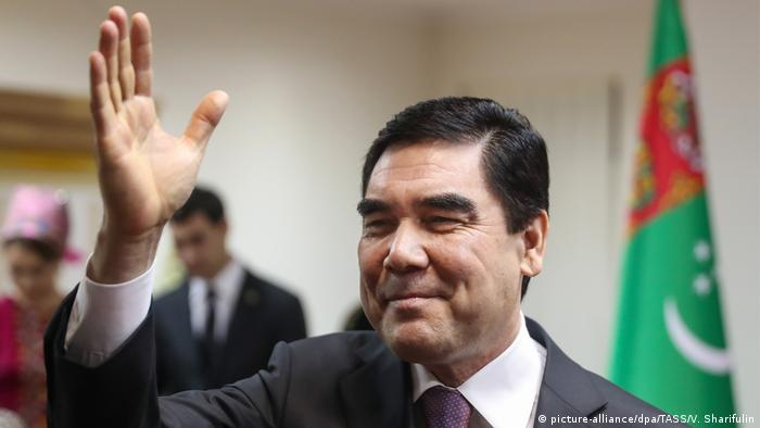 Turkmenistan | Präsident Gurbanguly Berdimuhamedow (picture-alliance/dpa/TASS/V. Sharifulin)