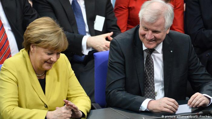 Deutschland | Wahl des Bundespräsidenten | Angela Merkel und Horst Seehofer