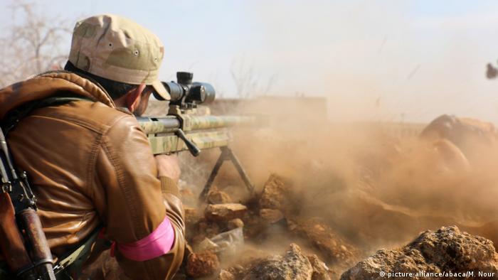 Attack in Al-Bab (picture alliance/abaca/M. Nour)