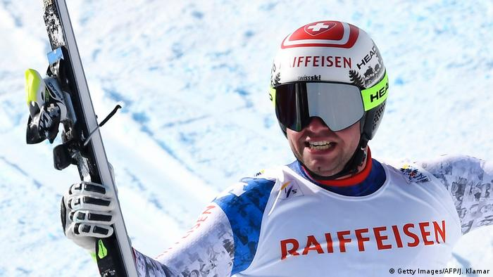 St. Moritz Alpine Skiweltmeisterschaft Beat Feu (Getty Images/AFP/J. Klamar)