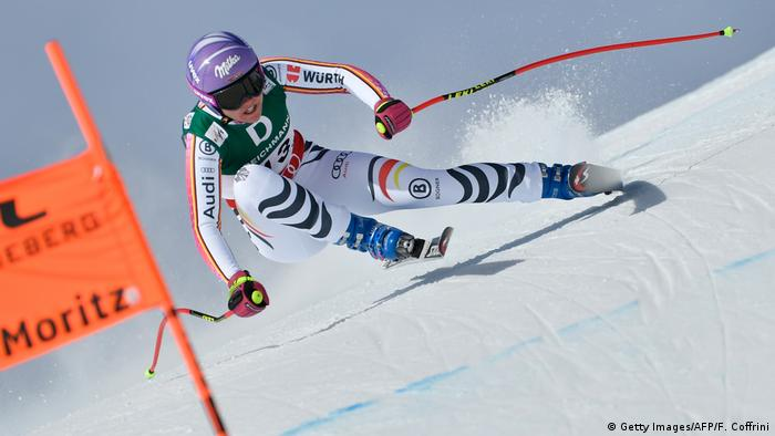 St. Moritz Alpine Skiweltmeisterschaft Viktoria Rebensburg (Getty Images/AFP/F. Coffrini)