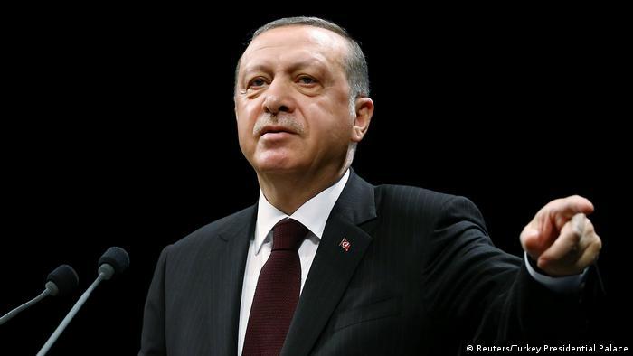 Tayyip Erdogan Präsidnet Türkei (Reuters/Turkey Presidential Palace)