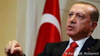 Türkei Präsident Tayyip Erdogan