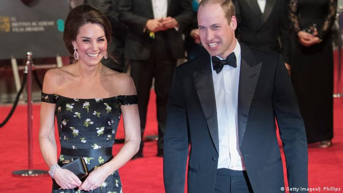 Bafta Awards Roter Teppich William & Kate (Getty Images/J. Phillips)
