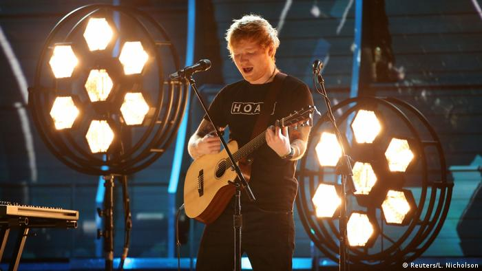 Grammy Awards 2017 in Los Angeles | Ed Sheeran (Reuters/L. Nicholson)