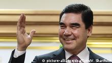 Turkmenistan Präsidentschaftswahlen Gurbanguli Berdimuchamedow