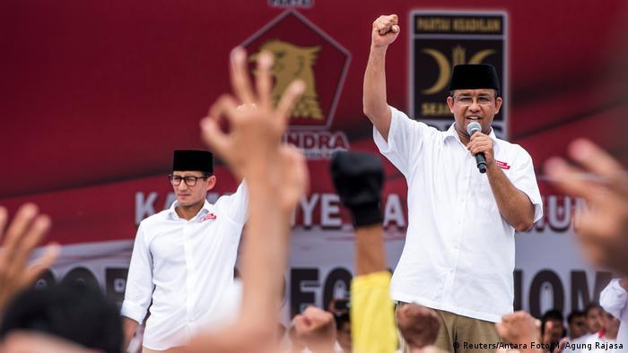 Indonesien Wahlkampf Gouverneur Jakarta (Reuters/Antara Foto/M. Agung Rajasa)