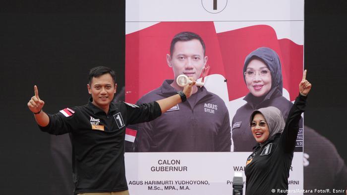 Indonesien Wahlkampf Gouverneur Jakarta (Reuters/Antara Foto/R. Esnir)