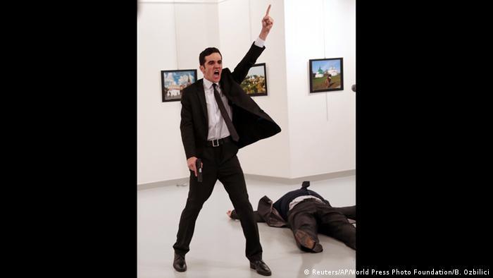 На світлині: вбивця дипломата, колишній турецький поліцейський.