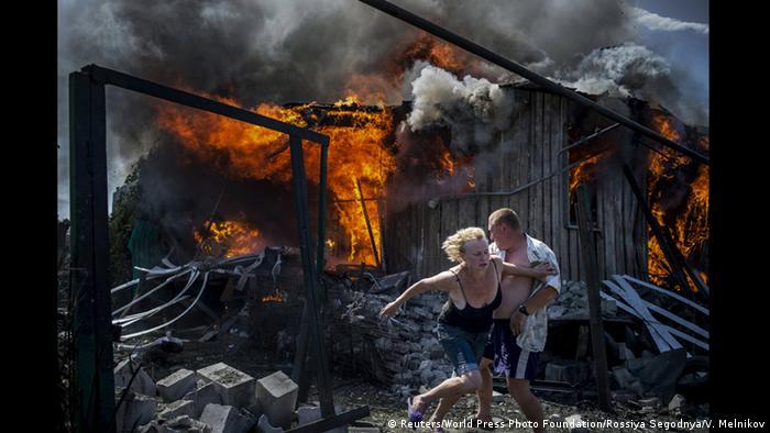 Із серії фотографій The Blak Days Of Ukraine (Чорні дні України) Валерія Мельникова