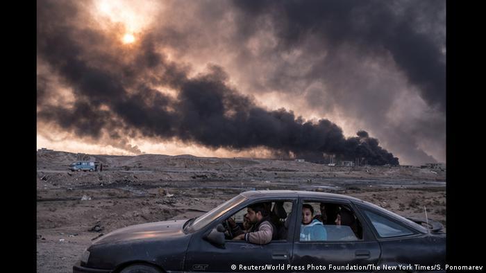 Фото Сергія Пономерьова для New York Times. Другий приз в категорії Головні новини. Історії.
