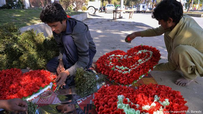 Pakistan Valentinstag (Getty Images/AFP/A. Qureshi)