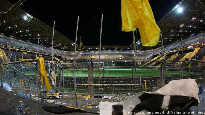 Fear On The Yellow Wall Borussia Dortmund Ultras Threatened