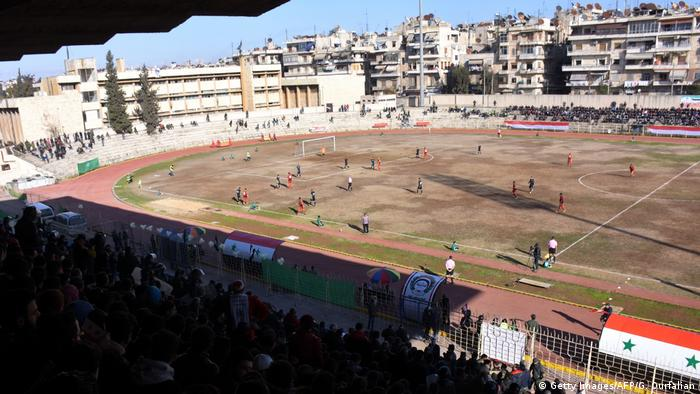 Syrien Fußball in Aleppo (Getty Images/AFP/G. Ourfalian)