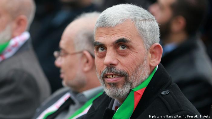 Palästina Hamas Anführer Yahya Sinwar (picture-alliance/Pacific Press/R. El-Agha)