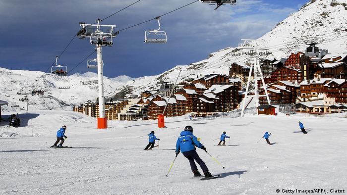 Frankreich Val-Thorens - Skigebiet