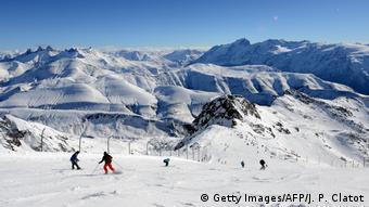 Французский горнолыжный курорт Альп д'Юэз