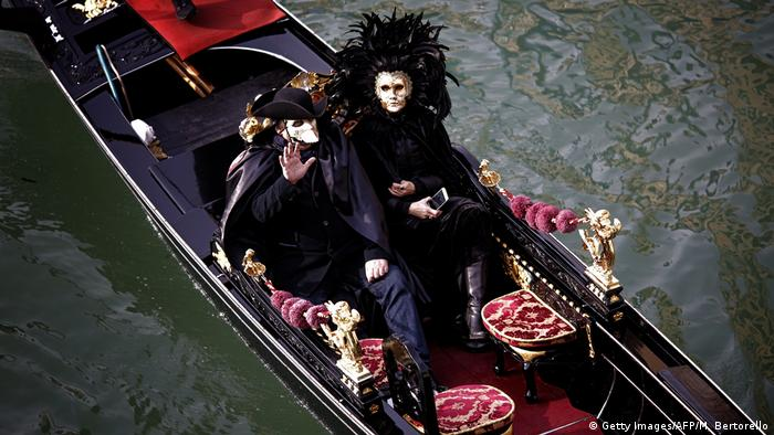 Italien Venedig - Karneval (Getty Images/AFP/M. Bertorello)