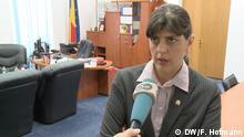 Rumänien Bukarest - Laura Codruta Kövesi Leiterin der Antikorruptionseinheit der rumänischen Staatsanwaltschaft