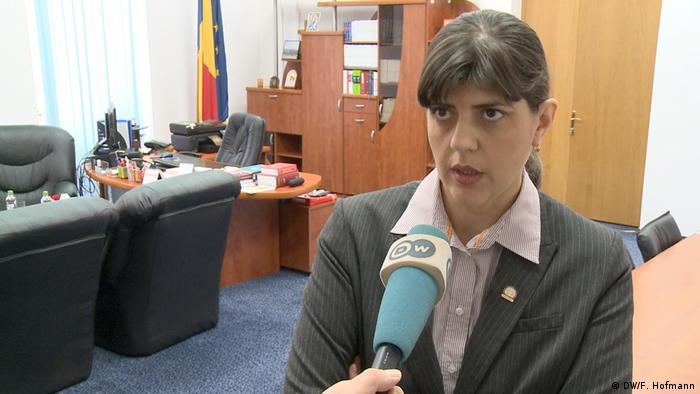 Laura Codruța Kövesi, șefa DNA