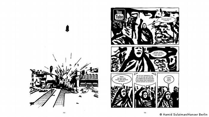 Freedom Hospital, graphic novel by Hamid Sulaiman