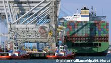 Containerhafen von Rotterdam