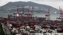 Containerhafen von Busan
