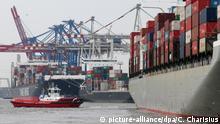 Containerhafen von Hamburg