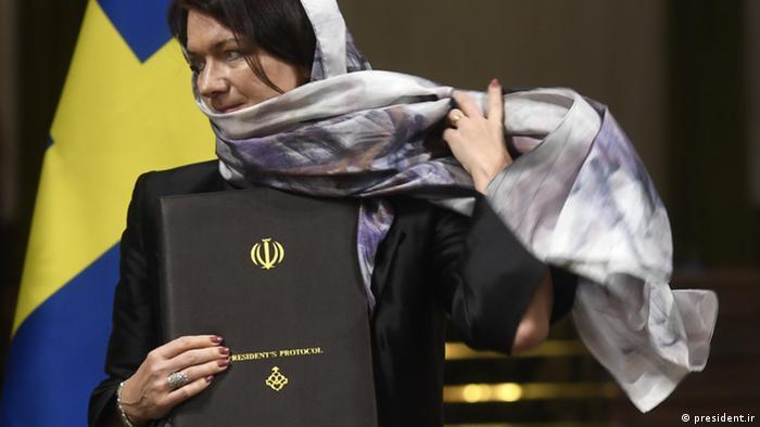 Iran Teheran - Schwedens Handelsministerin, Ann Linde in Teheran (president.ir)