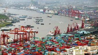 Containerhafen von Schanghai