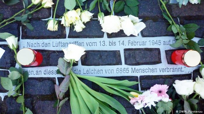 Homenaje a Dresde.